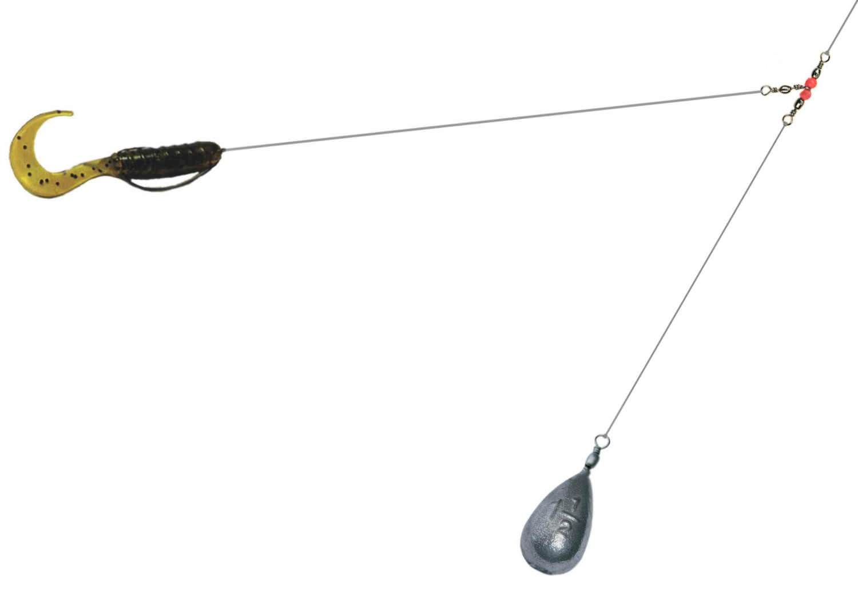 Схема ловли на спиннинг щука
