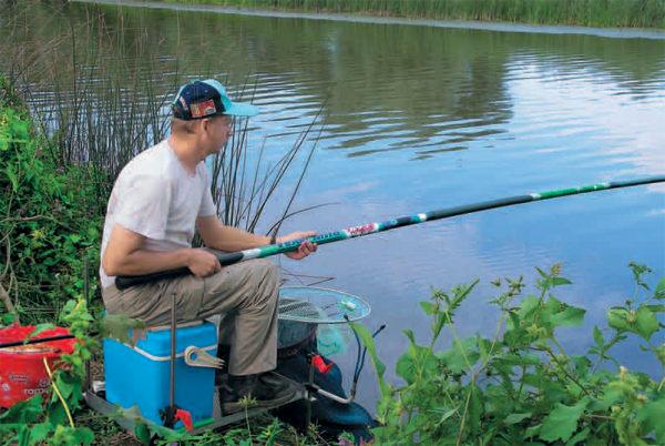 рыбалка в удочку данную