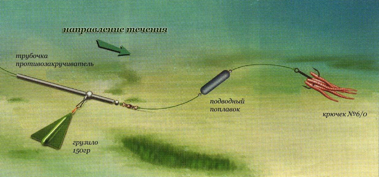 ловля сома на каме с берега