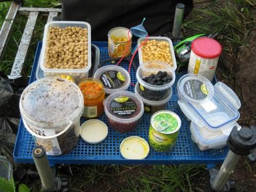 Рецепт приготовления прикормки для карпа 16