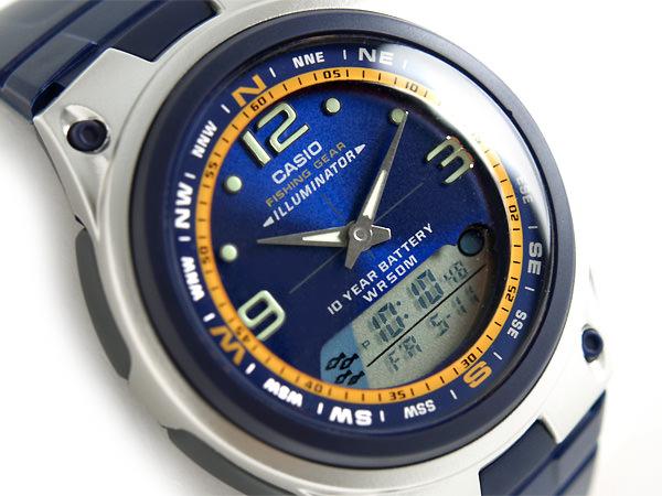 часы с барометром для рыбака касио купить