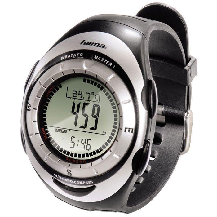 часы рыбака с компасом
