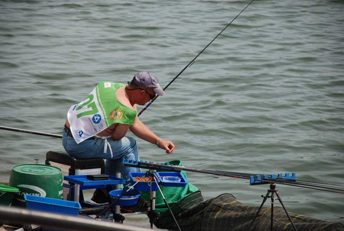 чемпионат по ловле рыбы на донную удочку