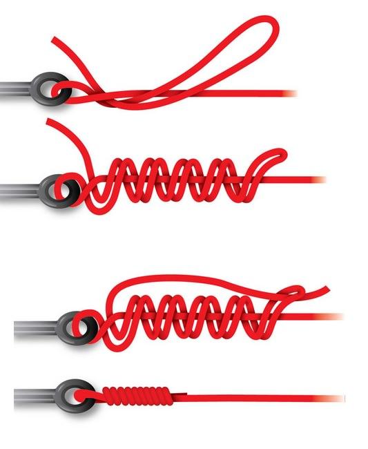 лучший узел для рыболовного шнура