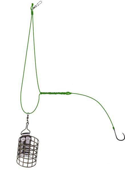 Оснастка для фидера асимметрическая петля