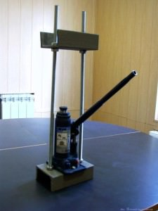 Пресс для технопланктона