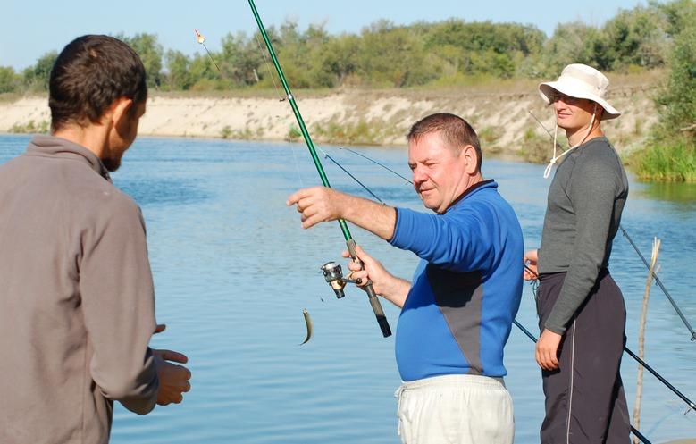 Ловля на прудах в ростовской области