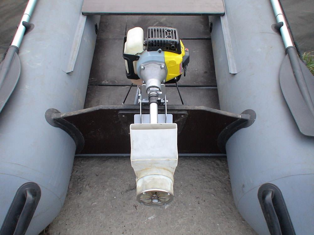 Лодочный мотор водомет сталкер