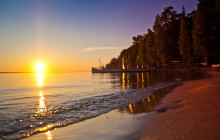 Базы отдыха на Горьковском море — особенности рыбалки