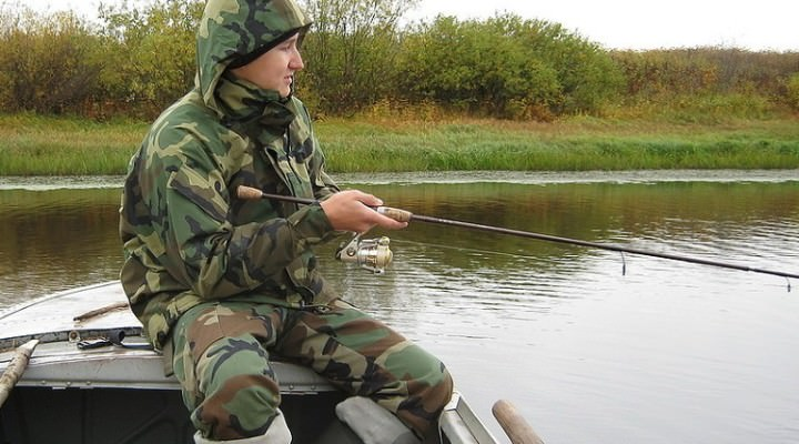 Непромокаемые костюмы для рыбалки