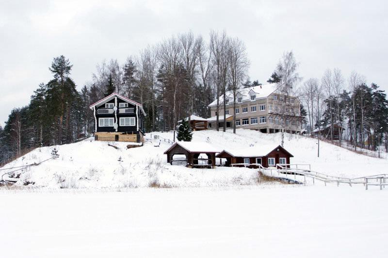 Новгород база отдыха аленушка