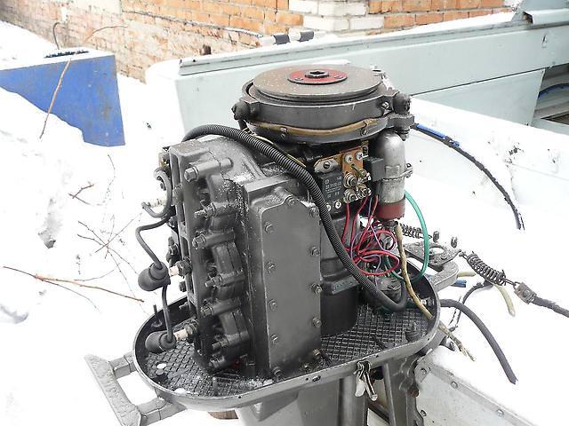 Российский лодочный мотор бийск
