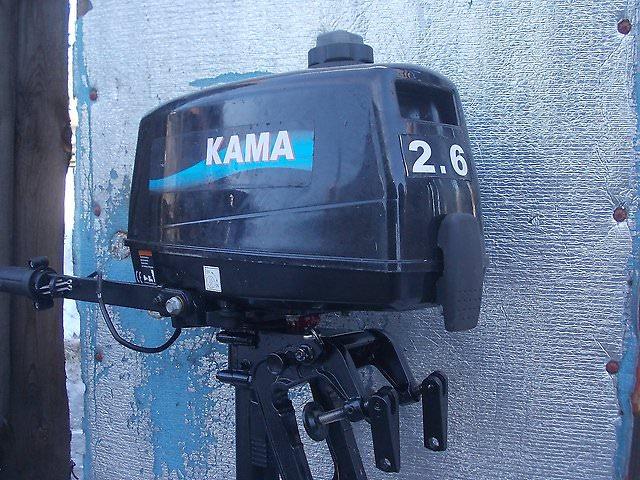 Российский лодочный мотор кама