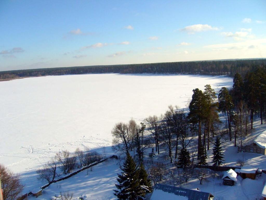 Чувашия Белое озеро
