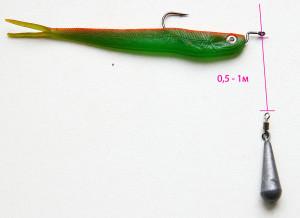 Макет рыбы