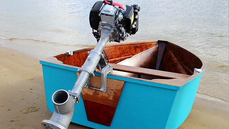 Лодочный мотор водомет кальмар
