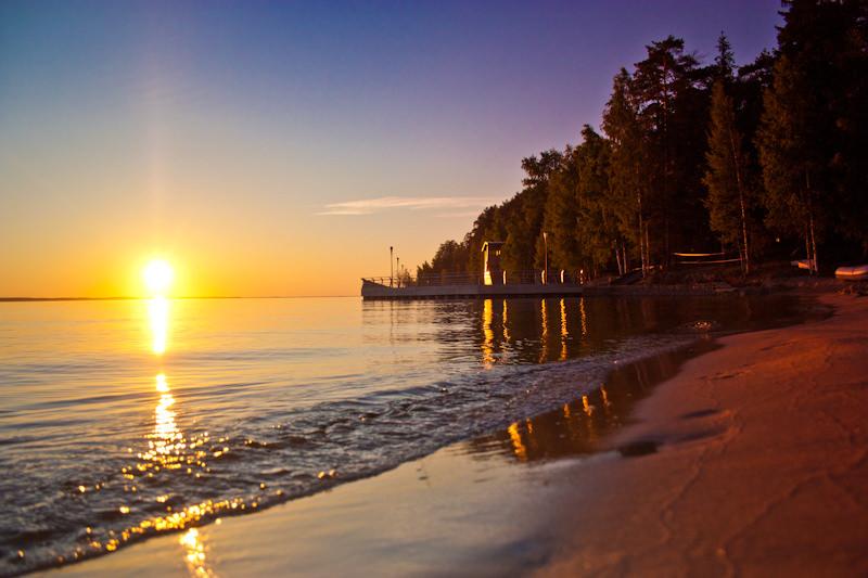 Базы отдыха на Горьковском море
