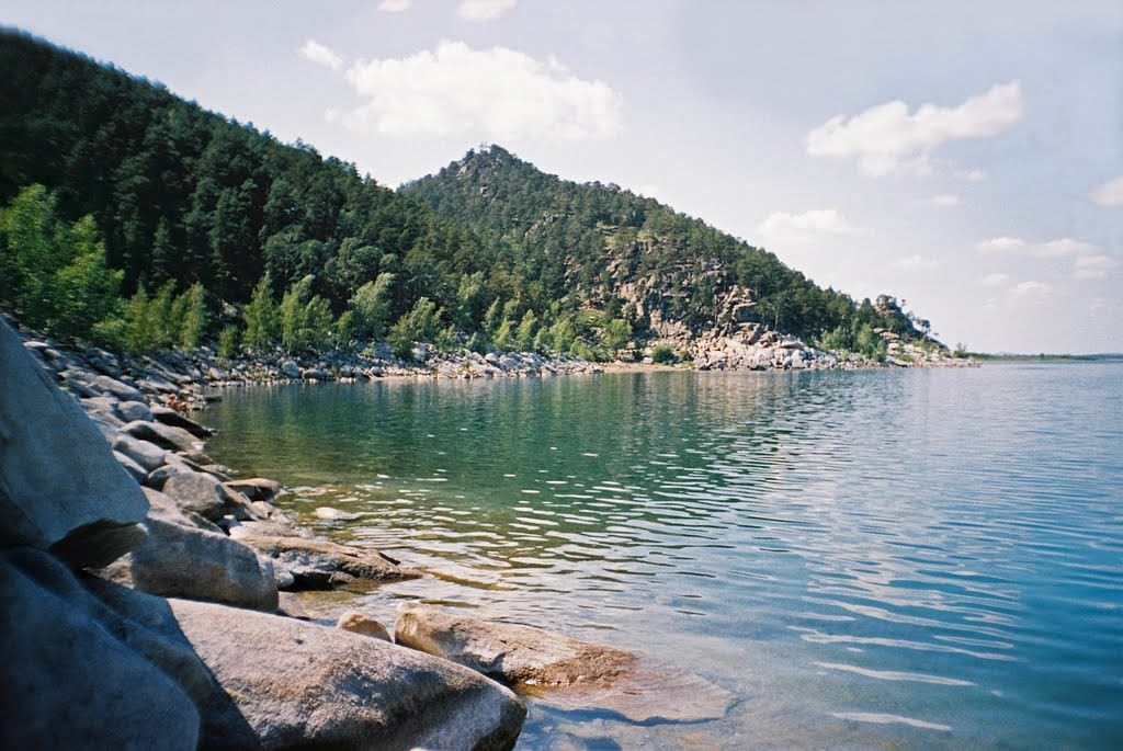 Озеро Большое Чебачье