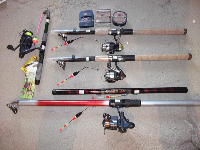 Удочки для поплавочной рыбалки 6 2