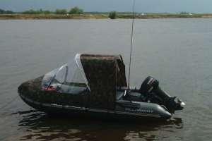 Тент-трансформер на лодку